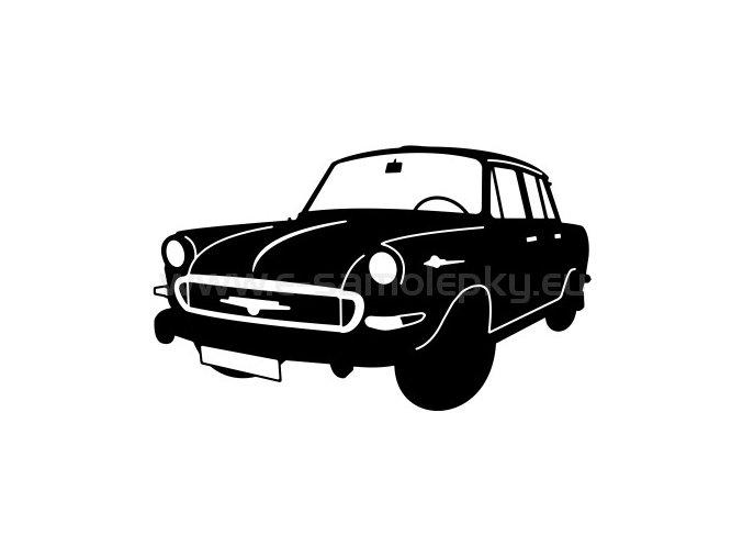 Samolepka - Škoda 1000 MB