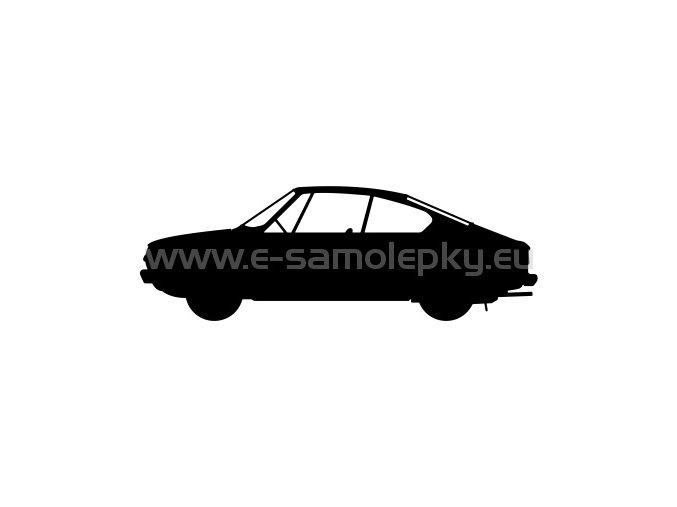Samolepka - Škoda 110 R