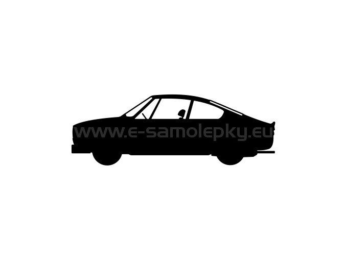 Samolepka - Škoda 130 RS