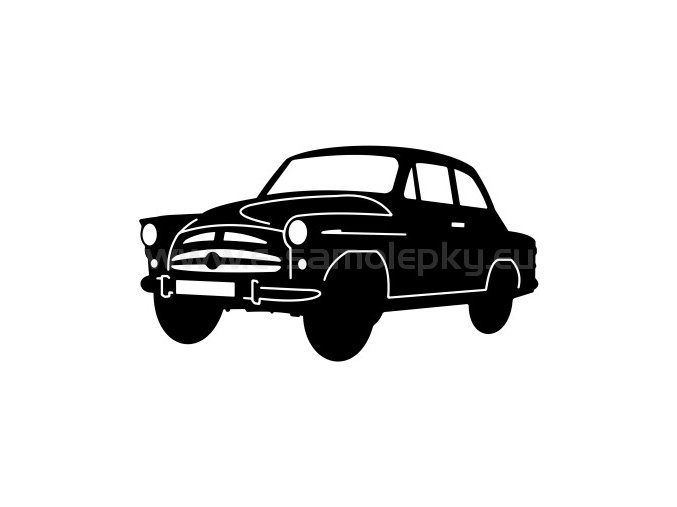 Samolepka - Škoda 440 Spartak 02