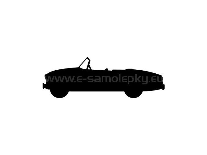 Samolepka - Škoda 450 Roadster