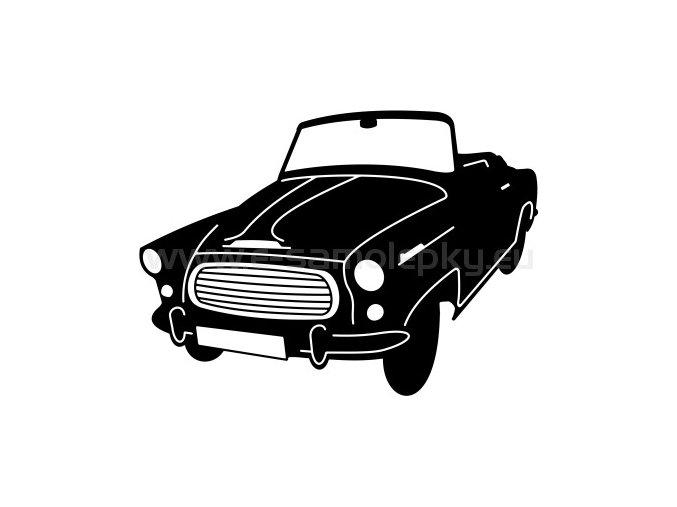 Samolepka - Škoda Felicia Cabrio