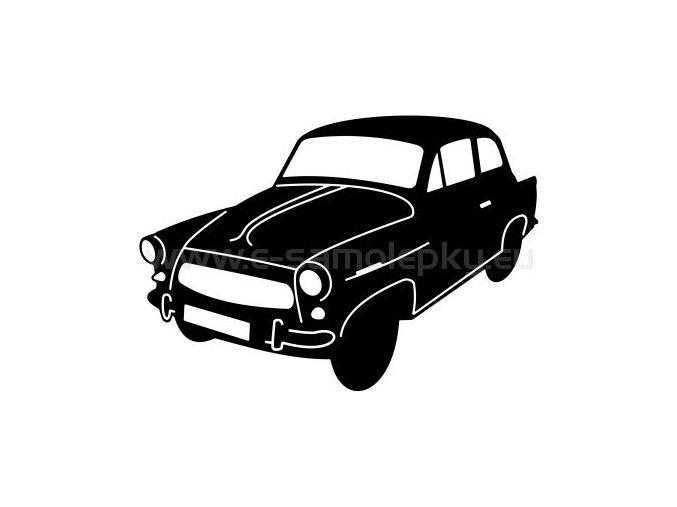 Samolepka - Škoda Octavia 02