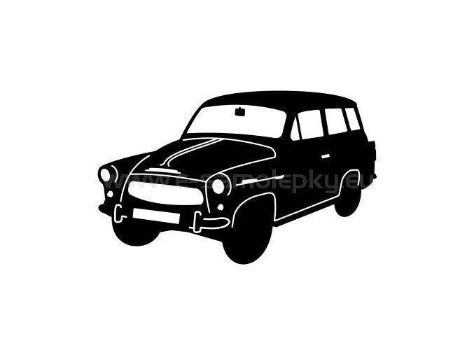 Samolepka - Škoda Octavia Combi 02