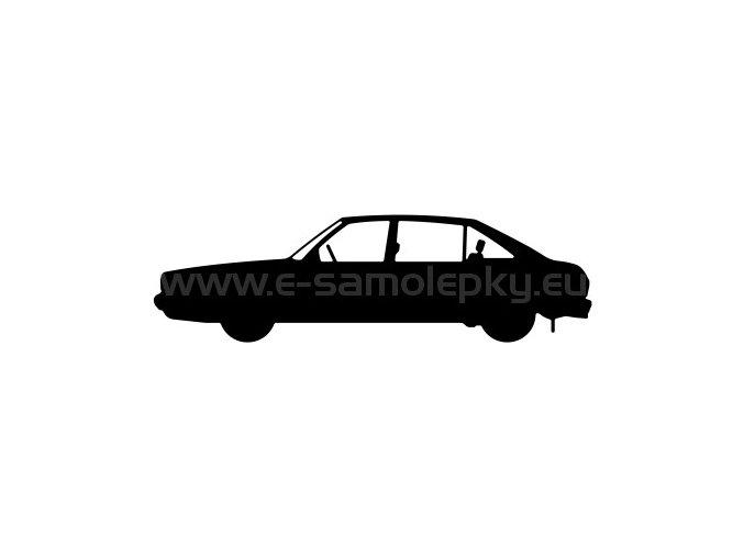 Samolepka - Tatra 613