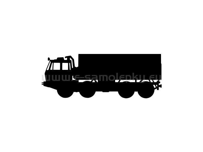 Samolepka - Tatra 815 8x8