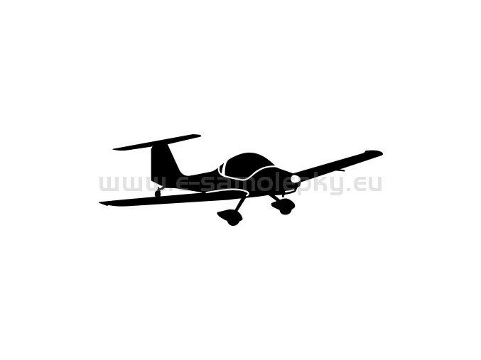 Samolepka - Letadlo Qualt 200