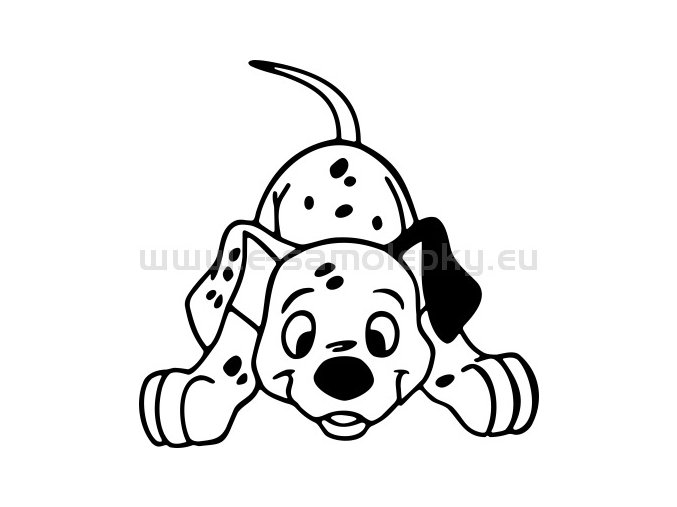 Samolepka - Pes 72