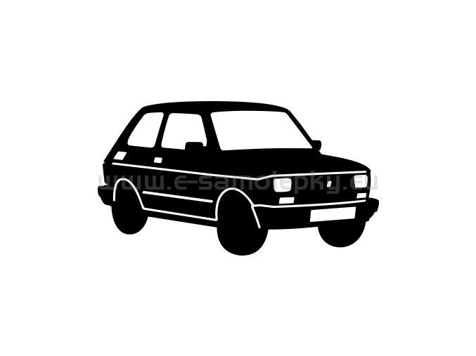 Samolepka - Fiat 126p Maluch