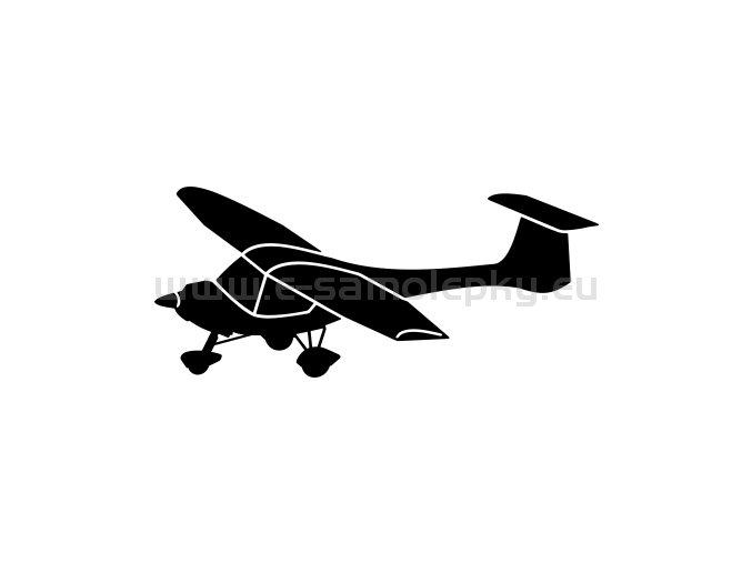 Samolepka - Letadlo ULL Cora Legato