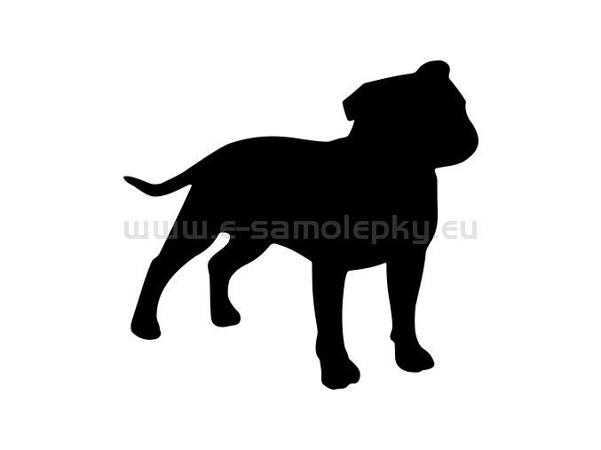 Samolepka - Pes 74