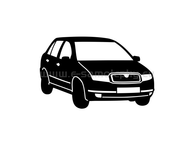 Samolepka - Škoda Fabia 03