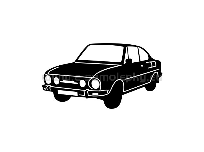 Samolepka - Škoda 110 R 02