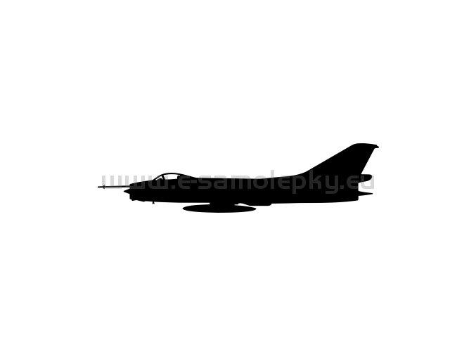 Samolepka - Letadlo SU 7