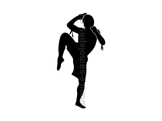 Samolepka - Muay Thai