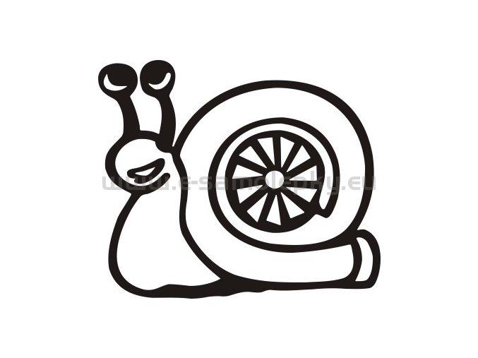Samolepka - Turbošnek