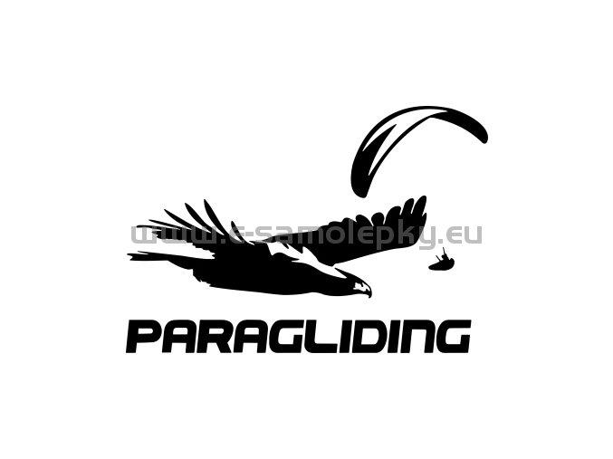 Samolepka - Paragliding 08