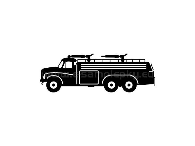 Samolepka - Tatra 148 CAS 32