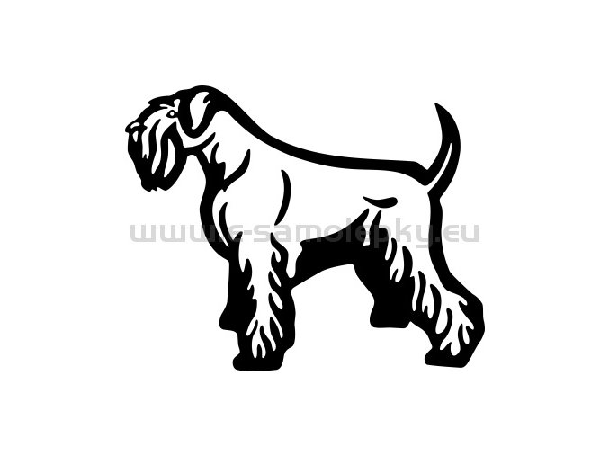 Samolepka - Pes 82