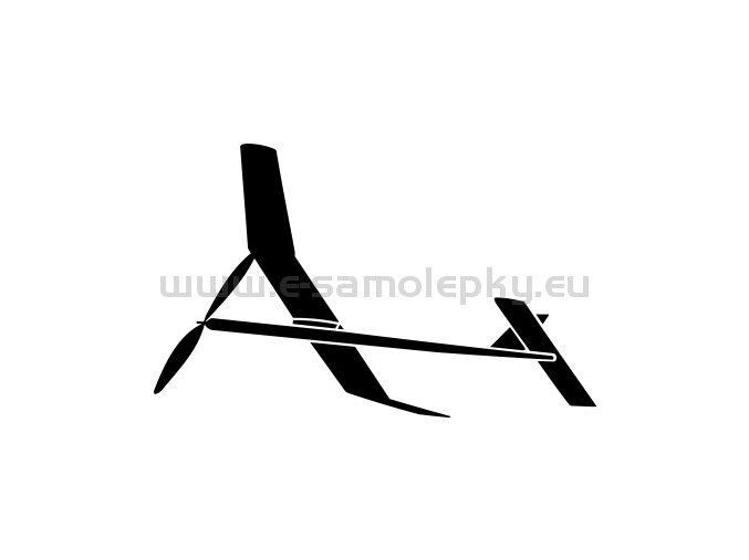 Samolepka - Model letadla  02