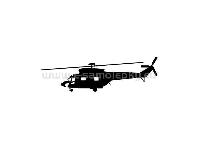 Samolepka - Vrtulník W-3A Sokol