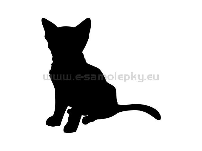 Samolepka - Kočka 32