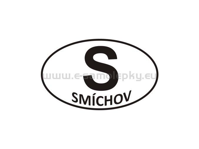 Samolepka - PZ - Smíchov - S