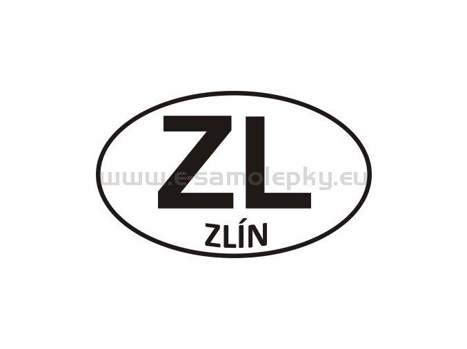 Samolepka - PZ - Zlín - ZL