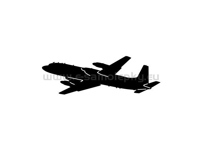 Samolepka - Letadlo IL-18
