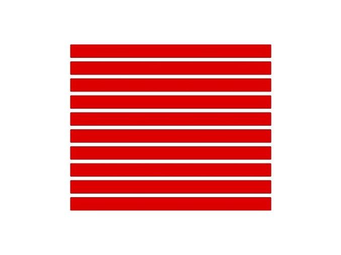 Reflexní proužky - červené