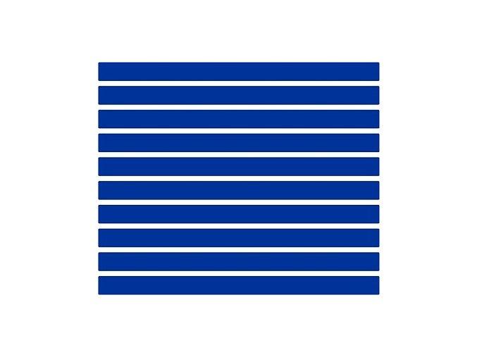 Reflexní proužky - modré