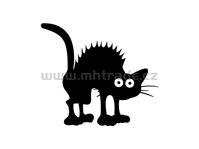 Samolepka - Kočka 33