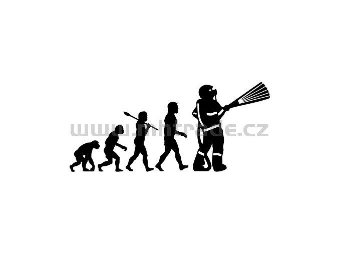 Samolepka - Hasič 10 evoluce