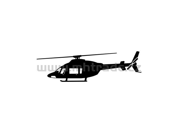 Samolepka - Vrtulník Bell 427