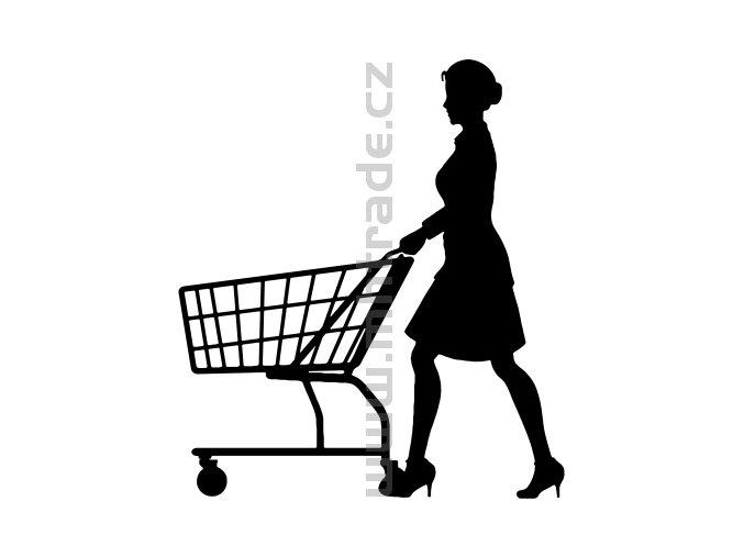 Samolepka - Shopaholic