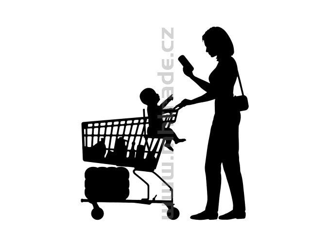 Samolepka - Shopaholic 02