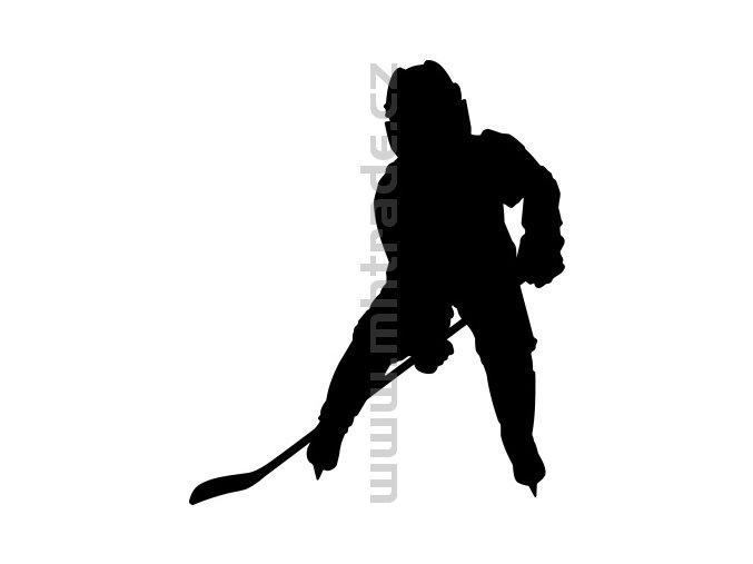 Samolepka - Hokejista 19
