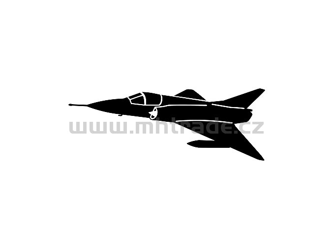 Samolepka - Letadlo_Mirage_IIICJ
