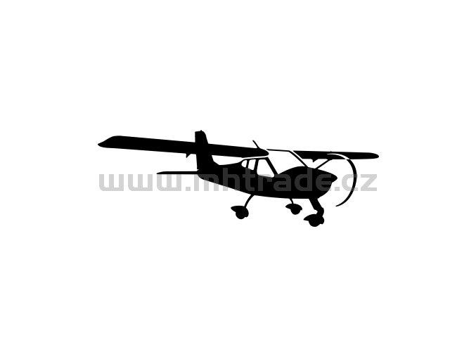 Samolepka - Letadlo P 92 Echo Super 02