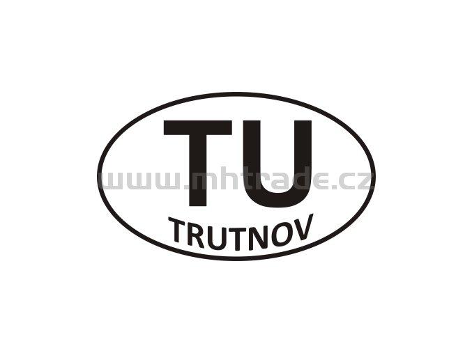 Samolepka - PZ - Trutnov - TU