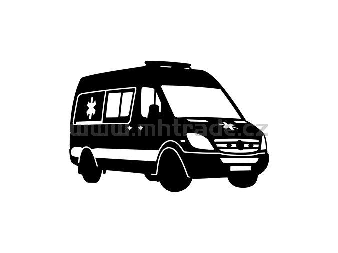 Samolepka - Mercedes Sprinter SANITKA