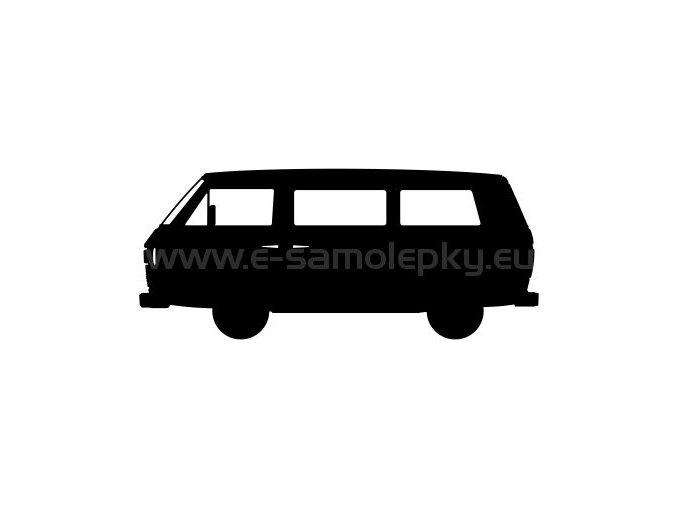 Samolepka - VW Transporter T3