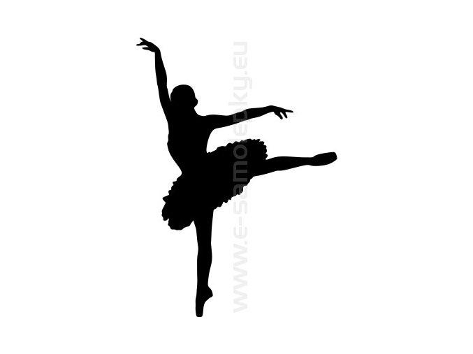 Samolepka - Balet 02