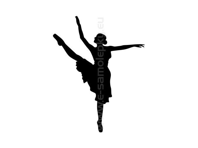 Samolepka - Balet 04