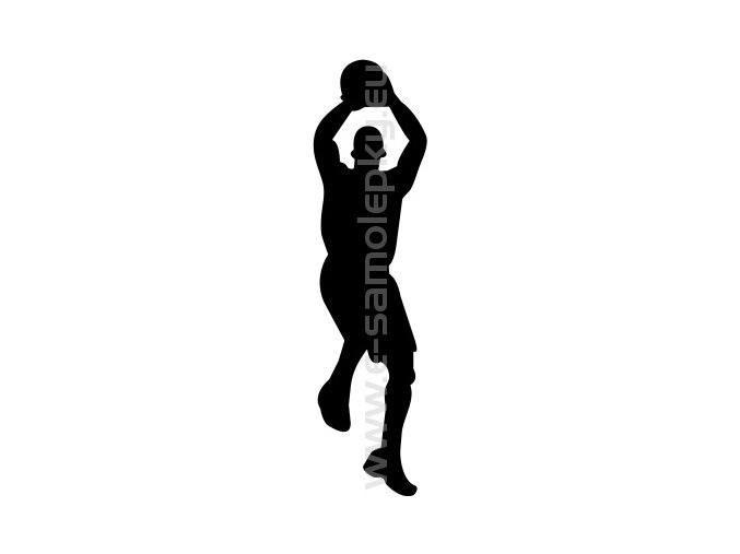 Samolepka - Basketbal 04