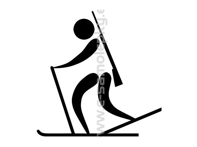 Samolepka - Biatlon