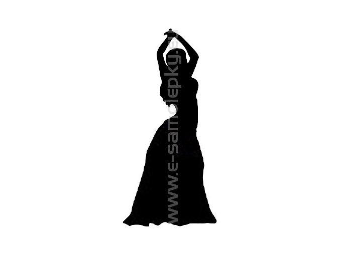 Samolepka - Břišní tanec