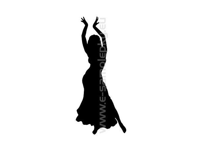 Samolepka - Břišní tanec 02