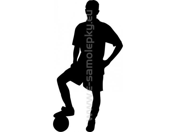 Samolepka - Fotbalista 02