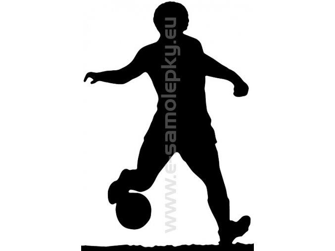 Samolepka - Fotbalista 04